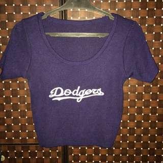 Sexy Dodgers Crop Top