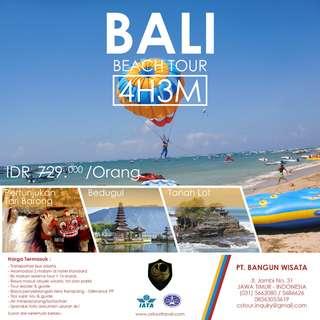Bali  Beach Tour 4D3N