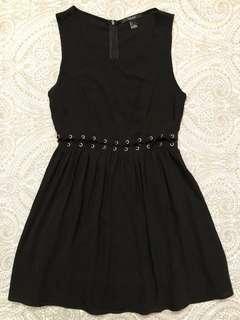 Forever 21 Black Sleeveless Dress