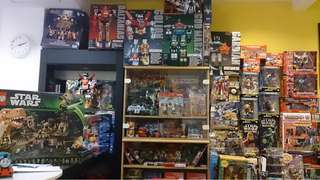 Toys of More than 200 Lines! Lego(1 Line), TF(1 Line), SW(1 Line), M.A.S.K, Thundercats, Vintage 80s, 90s, Marvel, Come'on IN!!