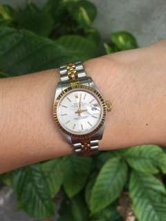 Authentic Rolex Datejust Ladies