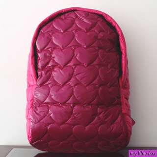 COMPANY KIDS PINK HEARTS BACKPACK