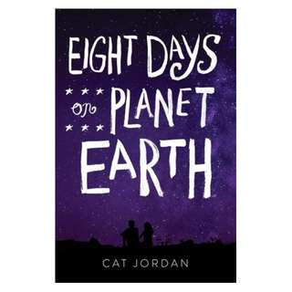 E-book English Novel - Eight Days on Planet Earth by Cat Jordan
