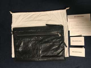 Balenciaga large pouch 手包