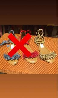 Sandal tali by payless