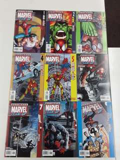 Ultimate Marvel Team-Up (2001) Complete Comics Set