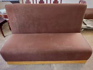 Couch with Detachable back rest