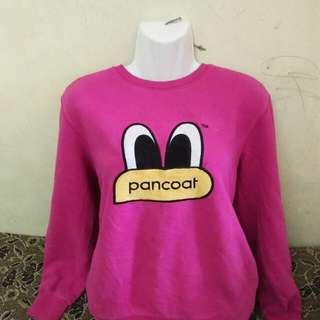 Authentic Pancoat sweatshirt pink color
