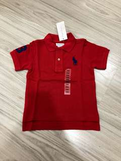 Authentic Ralph Lauren polo t in CHAMPION RED