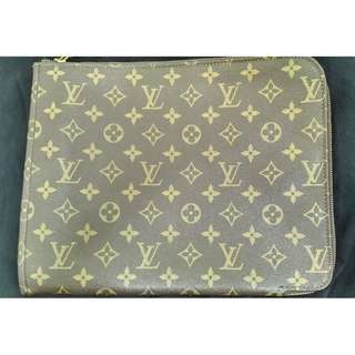 Vintage Louis Vuitton Monogram Porte document holder