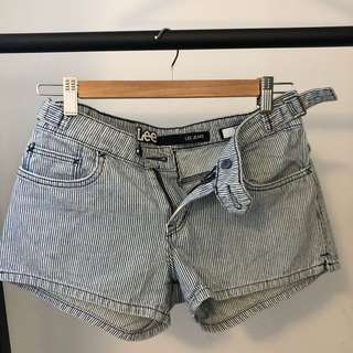 Lee Jeans Low Rise Shorts