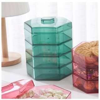 48460-1 3 Layer Transparent Candy Box