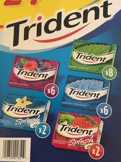 Trident 香口膠