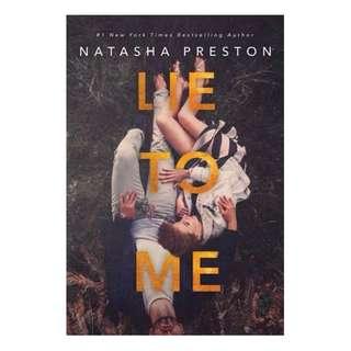 E-book English Novel - Lie to Me by Natasha Preston