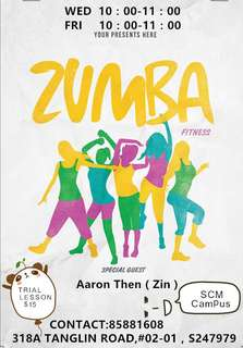 Zumba lesson(Group)