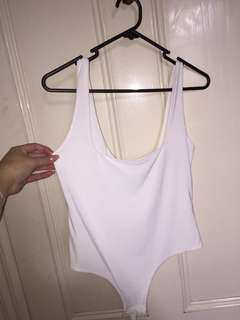 Pretty little thing white bodysuit