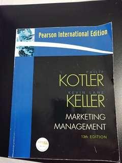 Marketing Management Kotler Keller 13th edition