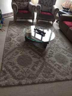 Crate and barrel rug