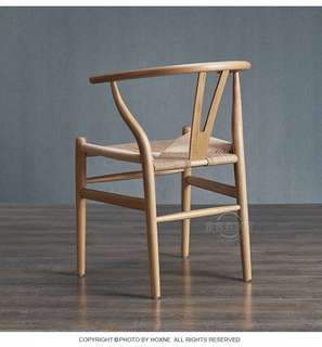 Wooden Y chair