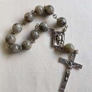 Labradorite Pocket Rosary