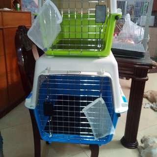 Dog carrier and kennel
