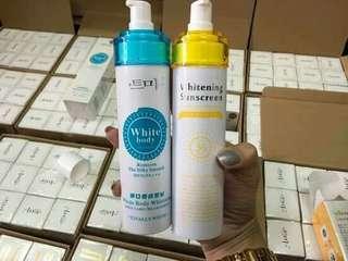 Sunscreen whitening
