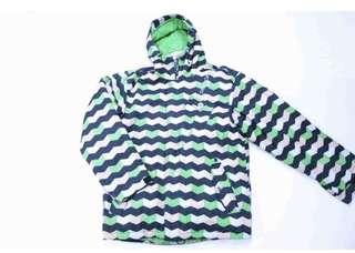 08/09 美國30年單板老牌 SESSIONS snowboard jacket 二手美品
