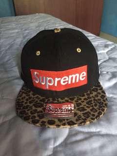 Snapback supreme leopard