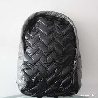 COMPANY KIDS BLACK ZIGZAG BACKPACK