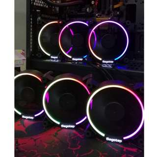 Segotep Lighting 12 RGB 120mm silent casing fan