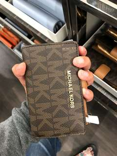 Michael Kors Zip Coin Wallet