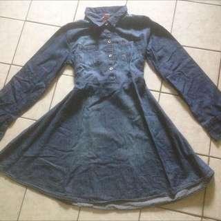 Denim dress for girl merk Justice