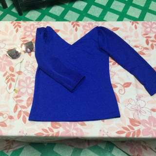 Formal top (Royal Blue)