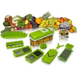 Nicer Dicer Plus Alat Pemotong Buah Dan Sayuran Ajaib