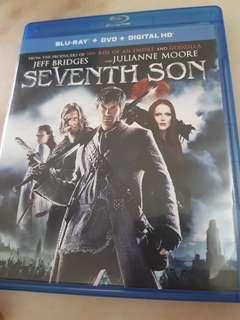 SEVENTH SON  BLU RAY . DVD . HD
