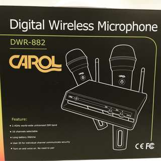CAROL  DWR-882 Digital Wireless microphone