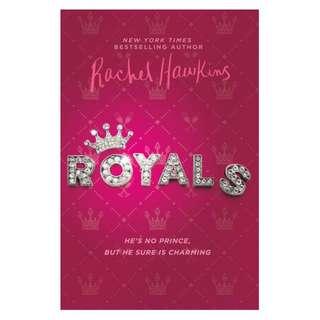 E-book English Novel - Royals by Rachel Hawkins