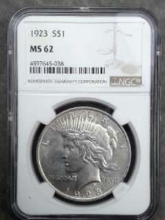 ☆☆☆☆100% Original America Dollars NGC MS62
