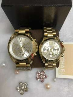 Couple Watches AUTHENTIC  MICHAEL KORS BEST SELLER