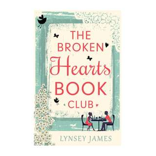 E-book English Novel - The Broken Hearts Book Club by Lynsey James