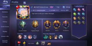 Account Mobile Legend