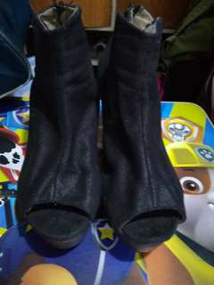 Original Primadonna Peep toe Ankle Boots