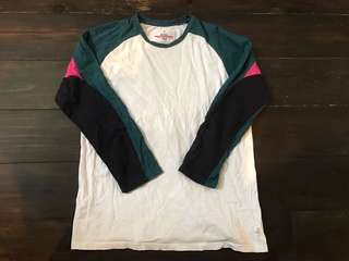 🚚 二手 WHIZ LIMITED Raglan sleeve 長T