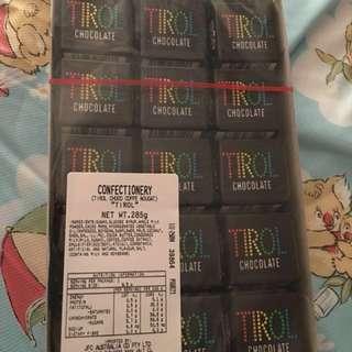 日本*TIROL CHOCOLATE 大粒 9.5g 1粒