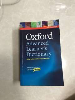 Oxford advance dictionary