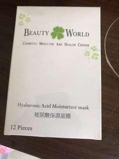 🚚 BEAUTY WoRLD(玻尿酸保濕面膜)