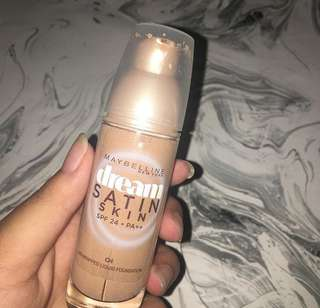 Maybelline dream satin skin foundation