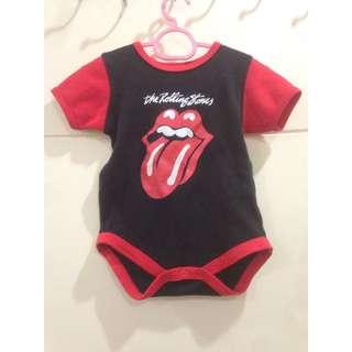 Baby Rolling Stones Romper
