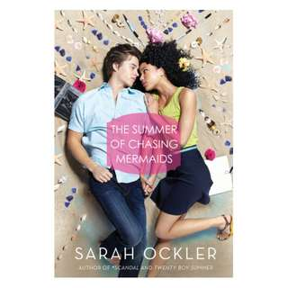 E-book English Novel - The Summer of Chasing Mermaids - Sarah Ockler