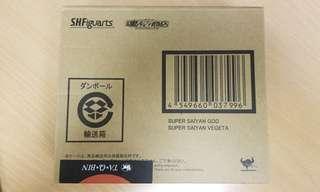 SHF 龍珠 Super Saiyan God Super Saiyan Vegeta